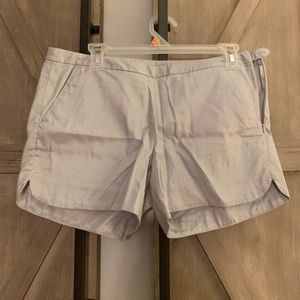 Lilly Pulitzer Silver Metalic Kasia Shorts